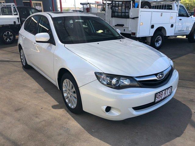 Used Subaru Impreza MY11 RS (AWD), 2011 Subaru Impreza MY11 RS (AWD) White 4 Speed Automatic Hatchback