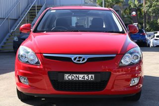 2011 Hyundai i30 FD MY11 SLX Red 4 Speed Automatic Hatchback