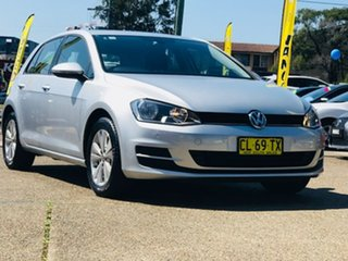 2017 Volkswagen Golf VII MY17 92TSI DSG Comfortline Silver 7 Speed Sports Automatic Dual Clutch