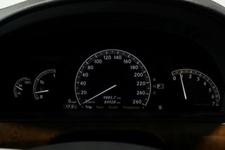 2008 Mercedes-Benz S-Class W221 MY08 S350 Black 7 Speed Automatic Sedan