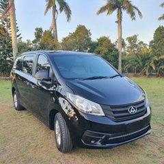 2016 LDV G10 SV7C Black 6 Speed Sports Automatic Van.