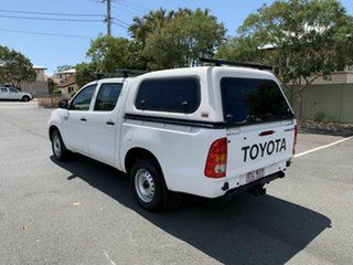 2009 Toyota Hilux KUN16R SR White 5 Speed Manual Dual Cab