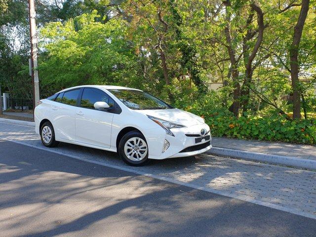 Used Toyota Prius ZVW50R , 2016 Toyota Prius ZVW50R White 1 Speed Constant Variable Liftback Hybrid