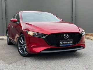 2020 Mazda 3 BP2HLA G25 SKYACTIV-Drive Evolve Soul Red Crystal 6 Speed Sports Automatic Hatchback