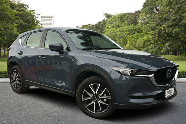 Demo Mazda CX-5 KF4WLA GT SKYACTIV-Drive i-ACTIV AWD, 2020 Mazda CX-5 KF4WLA GT SKYACTIV-Drive i-ACTIV AWD Polymetal Grey 6 Speed Sports Automatic Wagon