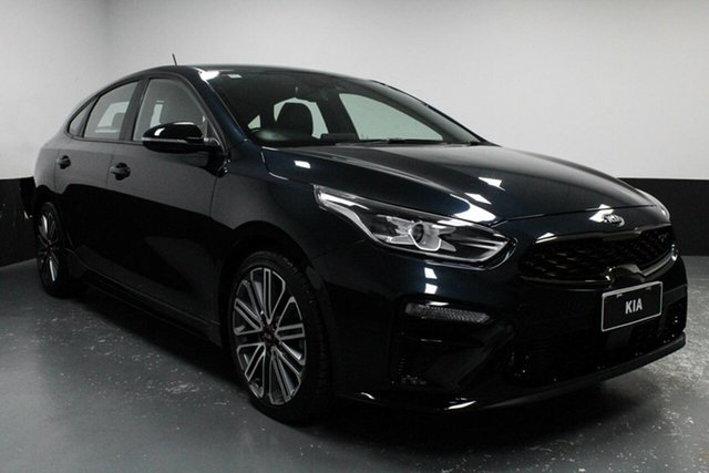 Used Kia Cerato BD MY19 GT DCT, 2019 Kia Cerato BD MY19 GT DCT Blue 7 Speed Sports Automatic Dual Clutch Hatchback