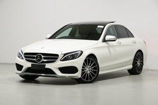2015 Mercedes-Benz C250 205 MY16 White 7 Speed Automatic Sedan.