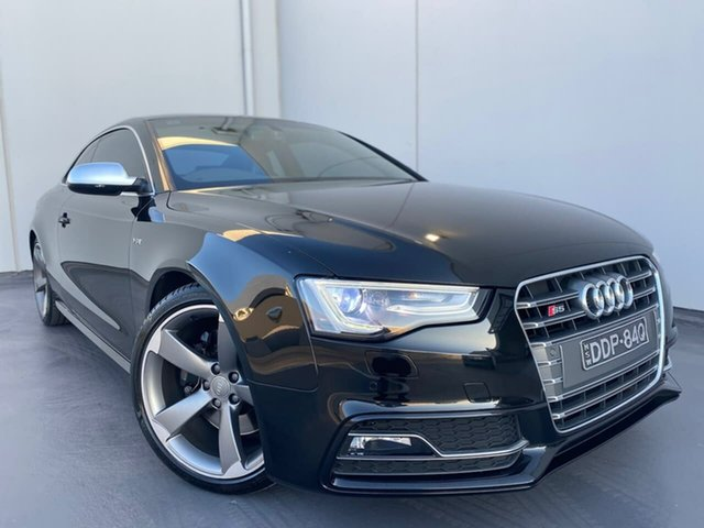 Used Audi S5 8T MY15 S Tronic Quattro Liverpool, 2015 Audi S5 8T MY15 S Tronic Quattro Grey 7 Speed Sports Automatic Dual Clutch Coupe