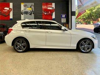 2013 BMW 125i F20 125i White Sports Automatic Hatchback