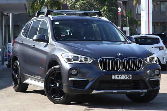 Used BMW X1 F48 MY17 xDrive 20D, 2016 BMW X1 F48 MY17 xDrive 20D 8 Speed Automatic Wagon