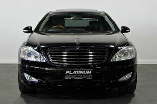 2008 Mercedes-Benz S-Class W221 MY08 S350 Black 7 Speed Automatic Sedan.