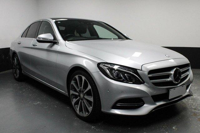 Used Mercedes-Benz C-Class W205 C250 7G-Tronic +, 2014 Mercedes-Benz C-Class W205 C250 7G-Tronic + Silver 7 Speed Sports Automatic Sedan