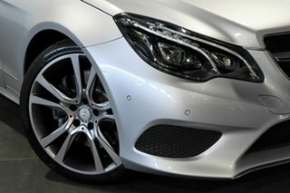 2013 Mercedes-Benz E-Class C207 MY13 E400 7G-Tronic + Silver 7 Speed Sports Automatic Coupe.