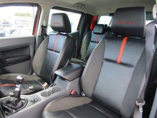 2014 Ford Ranger PX Wildtrak Double Cab Orange 6 Speed Manual Utility