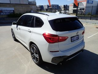 2018 BMW X1 F48 MY19 xDrive 25i M Sport White Crystal 8 Speed Automatic Wagon