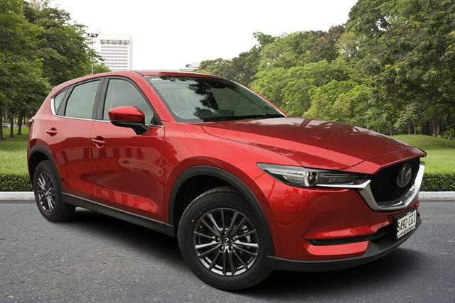 Demo Mazda CX-5 KF4WLA Maxx SKYACTIV-Drive i-ACTIV AWD Sport, 2020 Mazda CX-5 KF4WLA Maxx SKYACTIV-Drive i-ACTIV AWD Sport Soul Red 6 Speed Sports Automatic Wagon