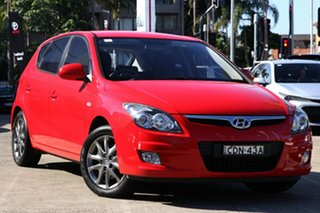 2011 Hyundai i30 FD MY11 SLX Red 4 Speed Automatic Hatchback.