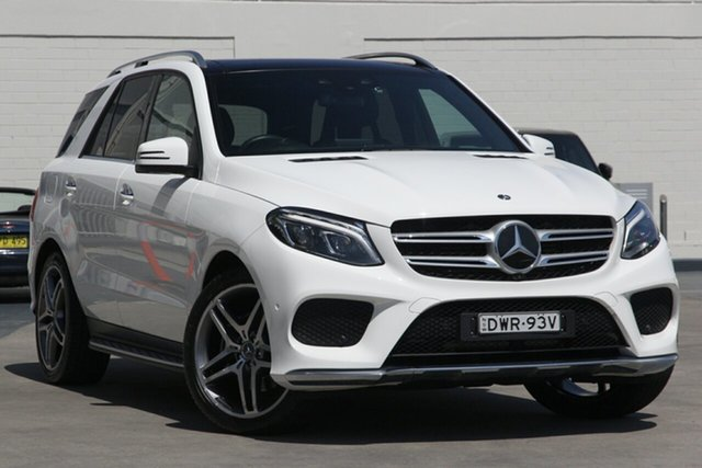 Used Mercedes-Benz GLE-Class W166 MY808+058 GLE350 d 9G-Tronic 4MATIC, 2018 Mercedes-Benz GLE-Class W166 MY808+058 GLE350 d 9G-Tronic 4MATIC White 9 Speed Sports Automatic