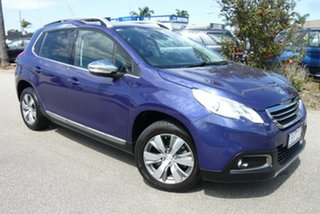 2014 Peugeot 2008 A94 Allure Blue 4 Speed Sports Automatic Wagon.