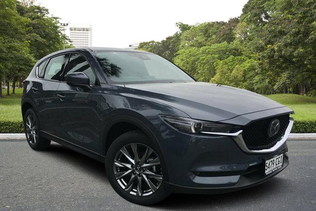 Demo Mazda CX-5 KF4WLA Akera SKYACTIV-Drive i-ACTIV AWD Paradise, 2020 Mazda CX-5 KF4WLA Akera SKYACTIV-Drive i-ACTIV AWD Polymetal Grey 6 Speed Sports Automatic
