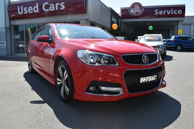 Used Holden Commodore VF MY14 SV6 Sportwagon Storm, 2014 Holden Commodore VF MY14 SV6 Sportwagon Storm Red 6 Speed Sports Automatic Wagon