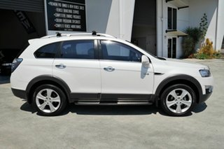 2013 Holden Captiva CG Series II MY12 7 AWD LX White 6 Speed Sports Automatic Wagon