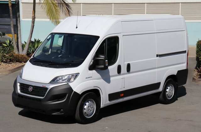 New Fiat Ducato Series 6 Mid Roof MWB Comfort-matic, 2020 Fiat Ducato Series 6 Mid Roof MWB Comfort-matic White 6 speed Automatic Van