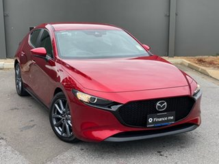 2020 Mazda 3 BP2HLA G25 SKYACTIV-Drive Evolve Soul Red Crystal 6 Speed Sports Automatic Hatchback.