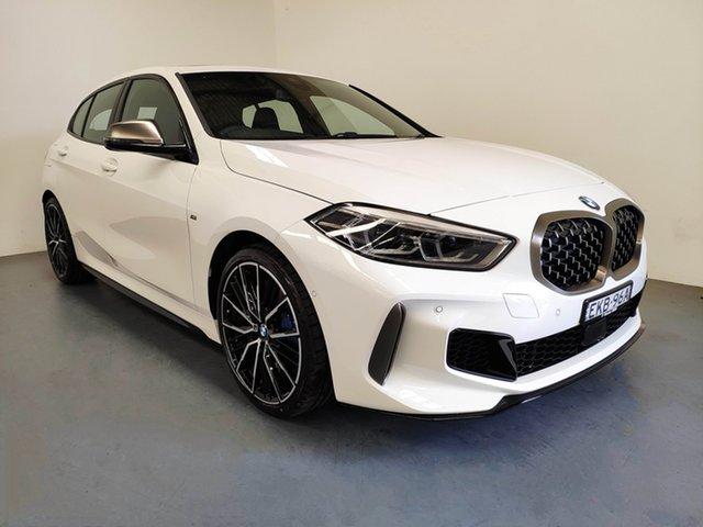 Demo BMW 1 Series F40 M135i Steptronic xDrive, 2020 BMW 1 Series F40 M135i Steptronic xDrive Alpine White 8 Speed Sports Automatic Hatchback