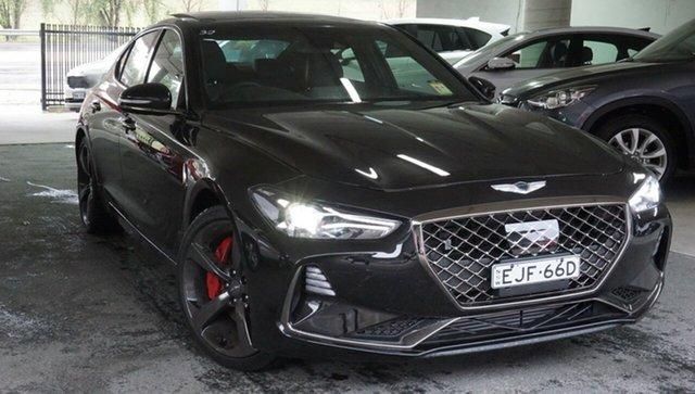 Used Genesis G70 IK MY19 Sport, 2018 Genesis G70 IK MY19 Sport Black 8 Speed Sports Automatic Sedan