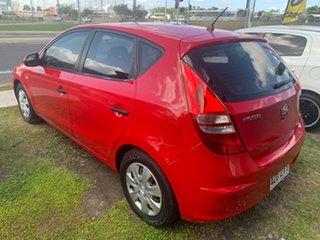 2011 Hyundai i30 Red Manual Hatchback.