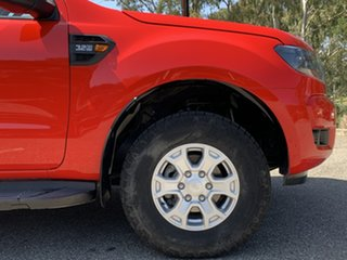 2016 Ford Ranger PX MkII XLS Double Cab True Red 6 Speed Sports Automatic Utility