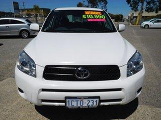 2007 Toyota RAV4 ACA33R CV White 4 Speed Automatic Wagon.