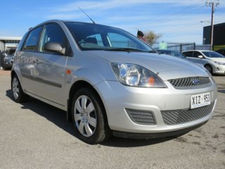 2006 Ford Fiesta WQ LX Silver 4 Speed Automatic Hatchback.