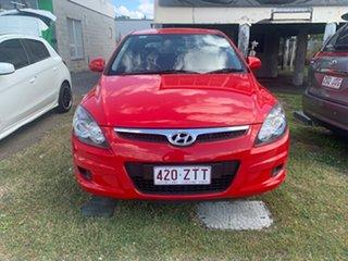 2011 Hyundai i30 Red Manual Hatchback
