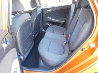 2016 Hyundai Accent RB4 MY17 Active Orange 6 Speed Manual Hatchback