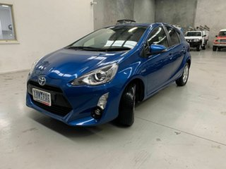 2016 Toyota Prius c NHP10R i-Tech E-CVT Blue 1 Speed Constant Variable Hatchback Hybrid.