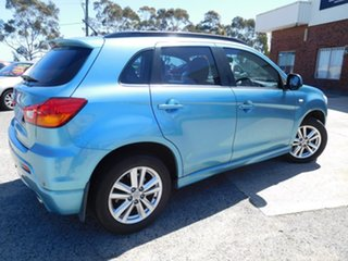 2011 Mitsubishi ASX XA MY12 2WD Blue 6 Speed Constant Variable Wagon