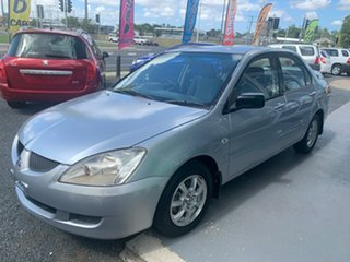 2004 Mitsubishi Lancer CH ES Silver 5 Speed Manual Sedan.
