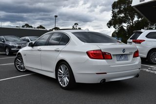2010 BMW 5 Series F10 535i Steptronic White 8 Speed Sports Automatic Sedan.