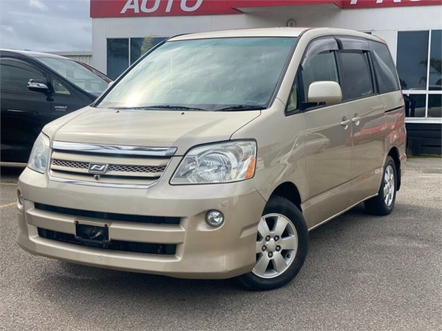 Used Toyota Noah Cheltenham, 2004 Toyota Noah AZR60G Gold 1 Speed Constant Variable Van