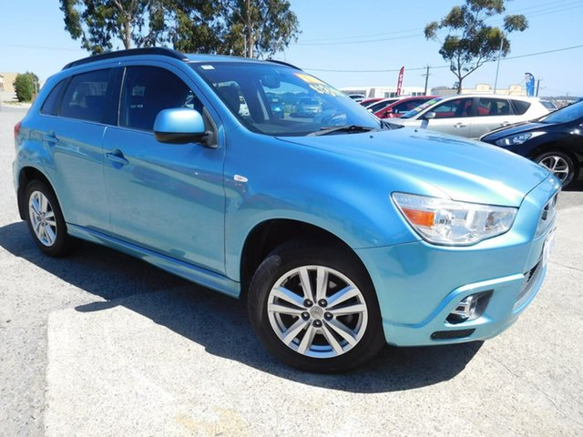 Used Mitsubishi ASX XA MY12 2WD Wangara, 2011 Mitsubishi ASX XA MY12 2WD Blue 6 Speed Constant Variable Wagon