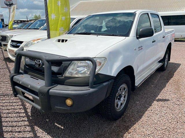 Used Toyota Hilux KUN26R MY10 SR Berrimah, 2011 Toyota Hilux KUN26R MY10 SR White 5 Speed Manual Utility