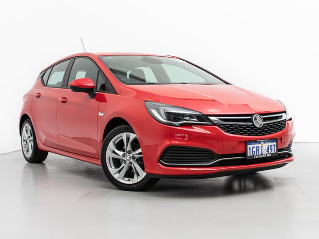 Used Holden Astra BK MY17 RS, 2017 Holden Astra BK MY17 RS Red 6 Speed Manual Hatchback
