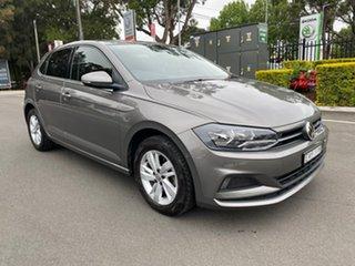 2018 Volkswagen Polo AW MY19 85TSI DSG Comfortline Grey 7 Speed Sports Automatic Dual Clutch.