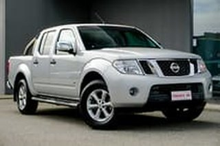2012 Nissan Navara D40 S5 MY12 ST-X 550 Silver 7 Speed Sports Automatic Utility