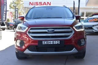 2017 Ford Escape ZG 2018.00MY Titanium Red 6 Speed Sports Automatic Dual Clutch SUV