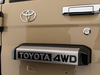 2020 Toyota Landcruiser VDJ76R GXL (4x4) Sandy Taupe 5 Speed Manual Wagon