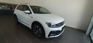 2020 Volkswagen Tiguan 5N MY20 162TSI DSG 4MOTION Highline Pure White 7 Speed.