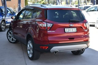 2017 Ford Escape ZG 2018.00MY Titanium Red 6 Speed Sports Automatic Dual Clutch SUV.